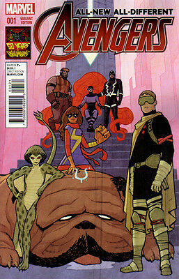 ALL-NEW ALL-DIFFERENT AVENGERS (2015) #1 Cliff Chiang INHUMANS 50th Cover 1:50