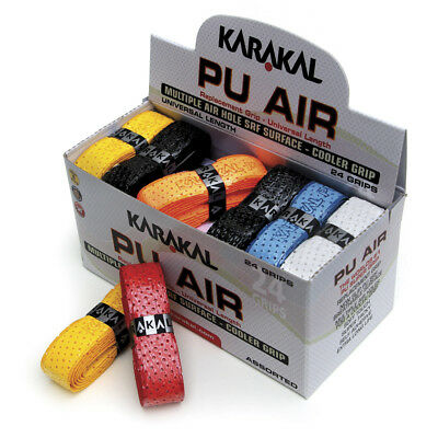 Karakal Coloured PU Super Air Grip Box of 24