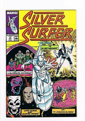 Silver Surfer # 17 Vol 2 1987 series !  grade - 9.0 scarce book !!