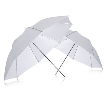 "Neewer Studio Photo 2 pieces 33"" Studio Flash Translucent Soft Umbrella White"