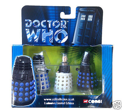 Doctor Who Corgi Dalek and Davros Set - Exclusive Limited Edition of 5000 - NEW