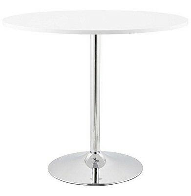 Kokoon DT00120WH Turno Table à Diner Verre Blanc 90 x 160 x 74 cm [0 X NEUF