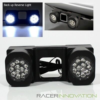 24 LED SUV/4x4/Truck Trailer Tow Hitch Receiver Rear Reverse Back Up Light Lamp