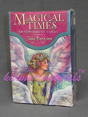 MAGICAL TIMES Empowerment Card Deck by Bergsma - Guidance Energy Divination