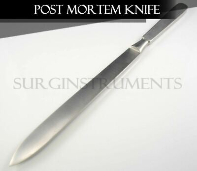 Stainless Steel Autopsy Post Mortem Dissection Knife Blade - 13.5""