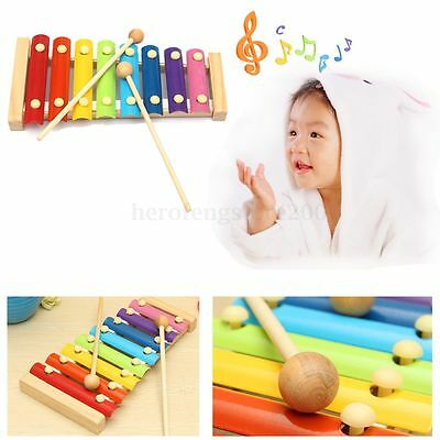 Child Baby Wooden Piano Educational Xylophone Musical Instrument Development Toy