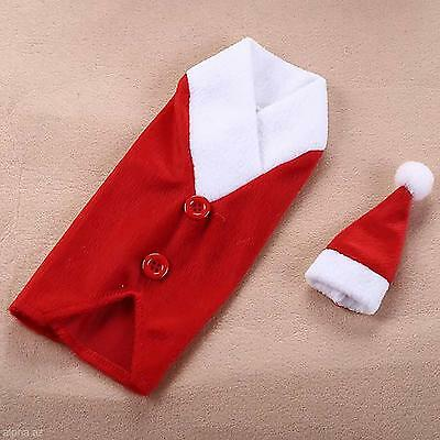 Likeable Christmas Button Wine Bottle Cover Bag Sleeves Design Party Table Decor