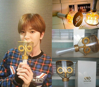 New Official Infinite Light Stick 2nd World Tour Concert Lightstick Glow Lamp