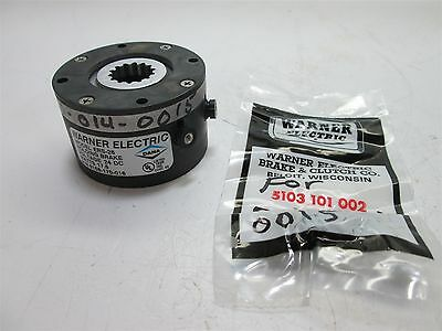 Warner Electric ERS-26 Electrically Released Brake, 1.5Lbs-Ft, 24VDC