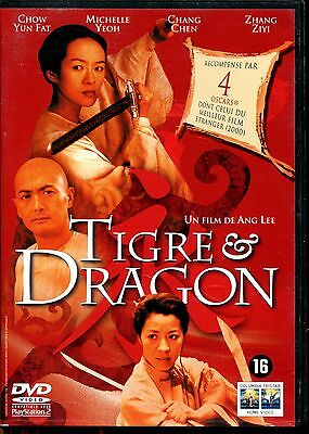 - DVD - TIGRE ET DRAGON ..Acteurs : chow yun fat - Michelle Yeoh - zhang ziyi -