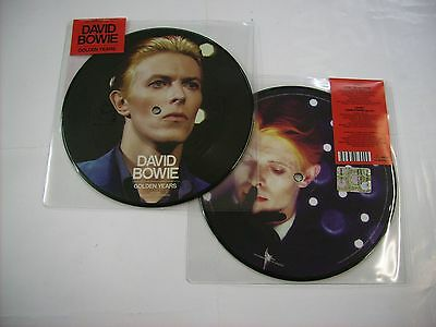 "David Bowie - Golden Years - 7"" Picture Disc Brand New 2015"