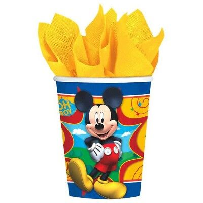 Mickey Mouse Clubhouse 8 9 oz Hot Cold Paper Cups Birthday Party