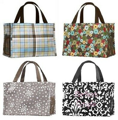 Thirty one all in Organizer mini tote hand bag 31 gift black Link & more design
