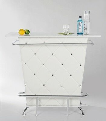 Kare Design 75204 Bar Lady Rock White weiß Bartheke Stehtisch Bar Theke