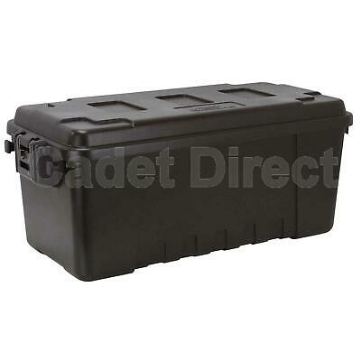 Plano Medium Military Storage Trunk, Black