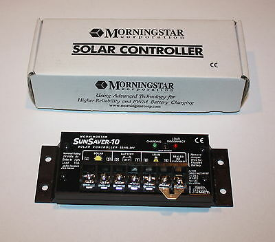 Morningstar SunSaver 10A, Charge Controller w/ LVD New