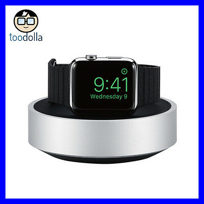 Just Mobile HoverDock aluminium docking station and charging stand, Apple Watch