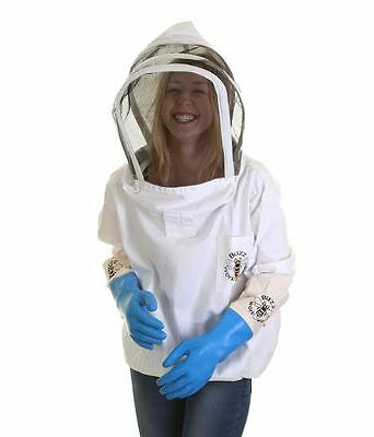 Buzz Beekeepers Jacket / Fencing Veil Tunic and Latex Gloves - ALL SIZES