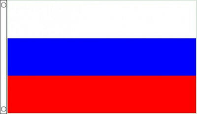 RUSSIA FLAG 5' x 3' Russian Federation Europe USSR Soviet Union