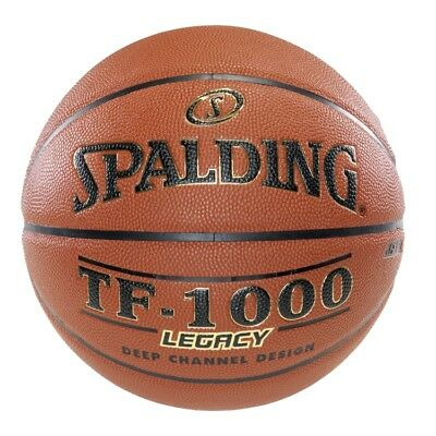 "Spalding TF-1000 Legacy Indoor Basketball - Official Size 7 (29.5"")"