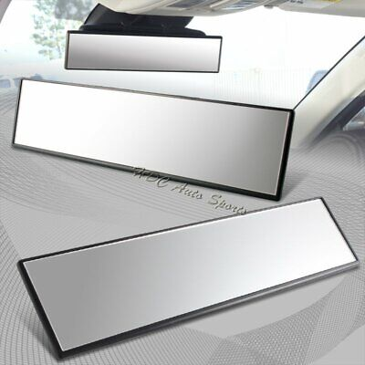 300mm Wide Flat Surface Interior Clip On Panoramic Rear View Mirror Universal 1