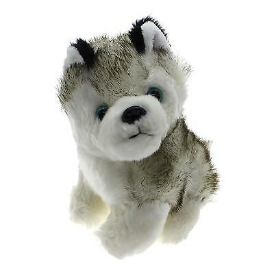18cm Mini Kawaii Husky Dog Plush Soft Toy Kids Baby Present Room Decor Necessary