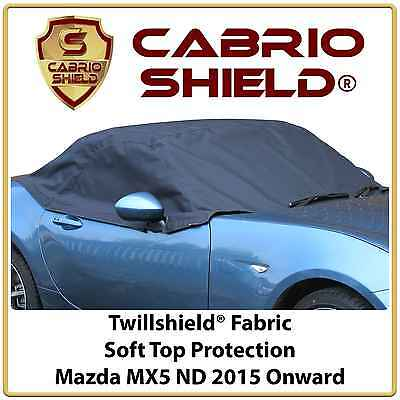 Mazda MX5 ND Car Hood Soft Top Roof Cover Half Cover Protection 2015 Onwards
