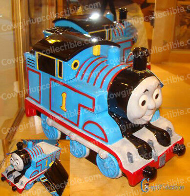 11681 - Thomas and Friends TAKE A TREAT Cookie Jar (Westland Giftware) Ceramic