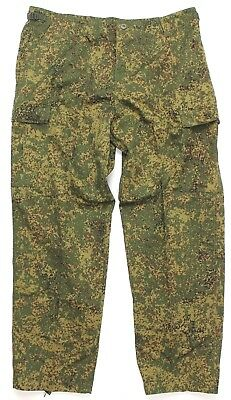 Russia Russian Soviet Army Style Combat Trousers In Woodland Digitarn Camo
