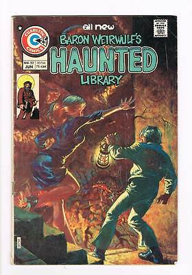 Haunted # 22 I Can Sing Forever ! grade - 3.5 scarce Charlton book !!