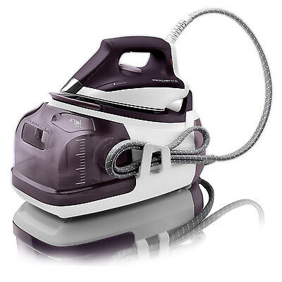 Rowenta DG8520 Perfect Steam Iron Station Eco Energy, 1800-Watt, Purple