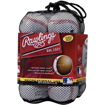 Rawlings Official League Recreational Use Baseballs (Pack of 12)