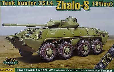 ACE #72168 Tank Hunter 2S14 Zhalo-S (Sting) in 1:72