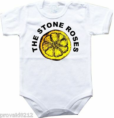 Baby bodysuit The stone roses 4, kids t-shirt unisex One Piece jersey