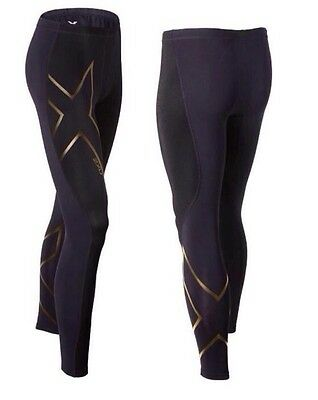 New 2XU Men Elite Merino Thermal Compression Tights Running Pants Tight Fitness