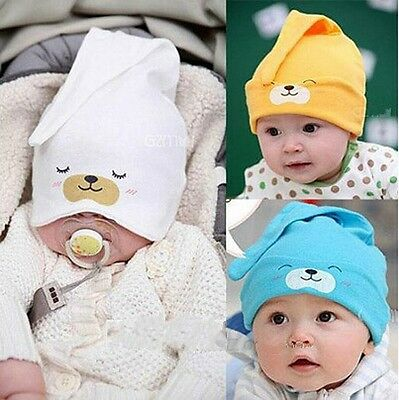 Cute Soft Hat Beanie Cap For Boy Girls Child Newborn Baby Infant Toddler Kids