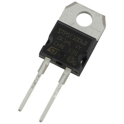 STM STPSC1006D SiC-Diode 10A 600V Silicon Carbide Schottky TO-220AC 856069