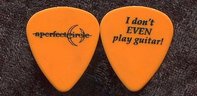 A PERFECT CIRCLE 2000 Tour Guitar Pick!!! MAYNARD KEENAN custom concert stage