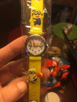 Despicable Me Minion Yellow Childrens Watch