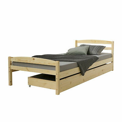 jugendbett kinderbett kojenbett leonie 90 x 200 kiefer massiv wei lackiert eur 139 00. Black Bedroom Furniture Sets. Home Design Ideas