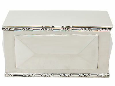 Antique Edwardian Sterling Silver Box