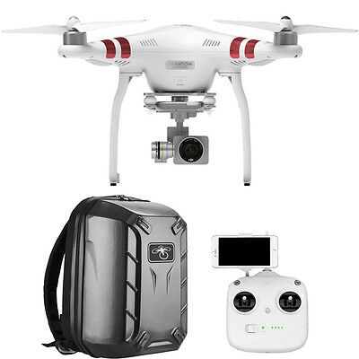 DJI Phantom 3 Standard Quadcopter Drone with 2.7K HD Video and Hardshell Backpac