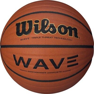 "Wilson NCAA Wave Microfiber Composite Basketball, 29.5"" Official Size"