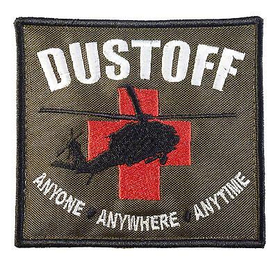 US army ambulance CASEVAC DUSTOFF embroidered medical sew iron on patch