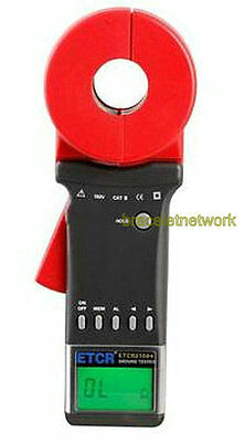ETCR2100A+ Digital Clamp On Ground Earth Resistance Tester Meter 0.01-200Ω