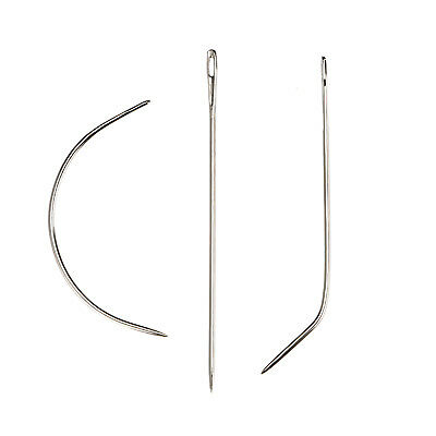 Sewing Braids Track Weave Needle C I J Shape for Making Lace Wig Hair Extension