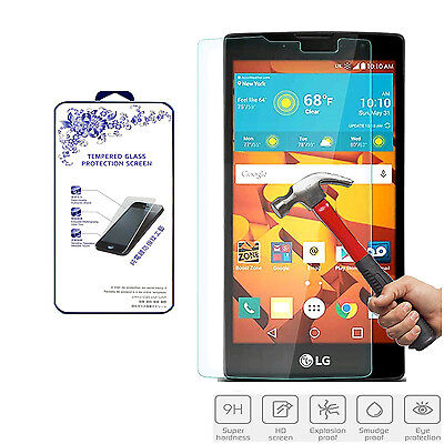 For LG Volt 2 HD Premium Tempered Glass Screen Protector Film Shield 0.33mm 2.5D