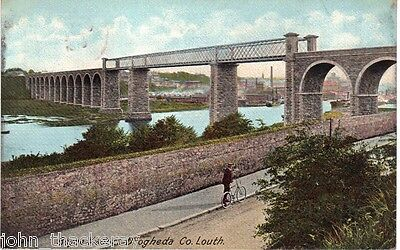 Boyne Viaduct, Drogheda Co.Louth, Ireland Posted March 25th 1905