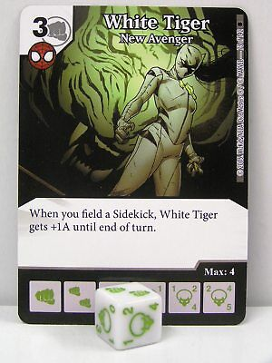 Marvel Dice Masters 2x#073 White Tiger - New Avenger - The Amazing Spider-Man