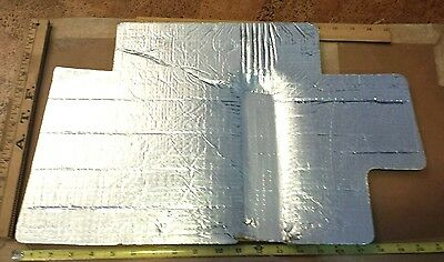 "405-4308 ONAN GENERATOR HEAT SHIELD INSULATION 12"" × 20"" X 1/2""  New old stock"